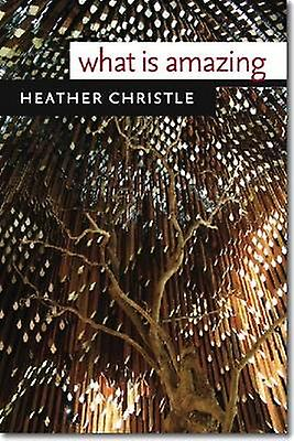 What is Amazing by Heather Christle - 9780819572776 Book