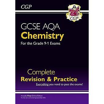 Ny karakter 9-1 GCSE kjemi AQA fullføre revisjon & praksis med på