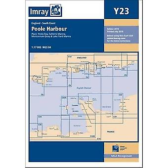 Imray Chart Y23 - Poole Harbour (New edition) by Imray - 9781846238437