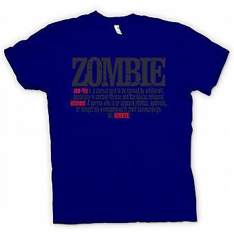 Детские футболки - зомби Defination - Cool Дизайн