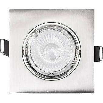 Basetech CT-3112 Recess-mount bracket HV halogen GU10 35 W Chrome (brushed)