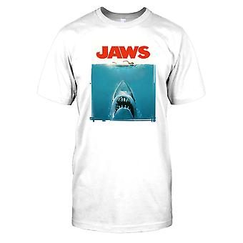 Jaws Movie Poster - Classic Movie Mens T Shirt