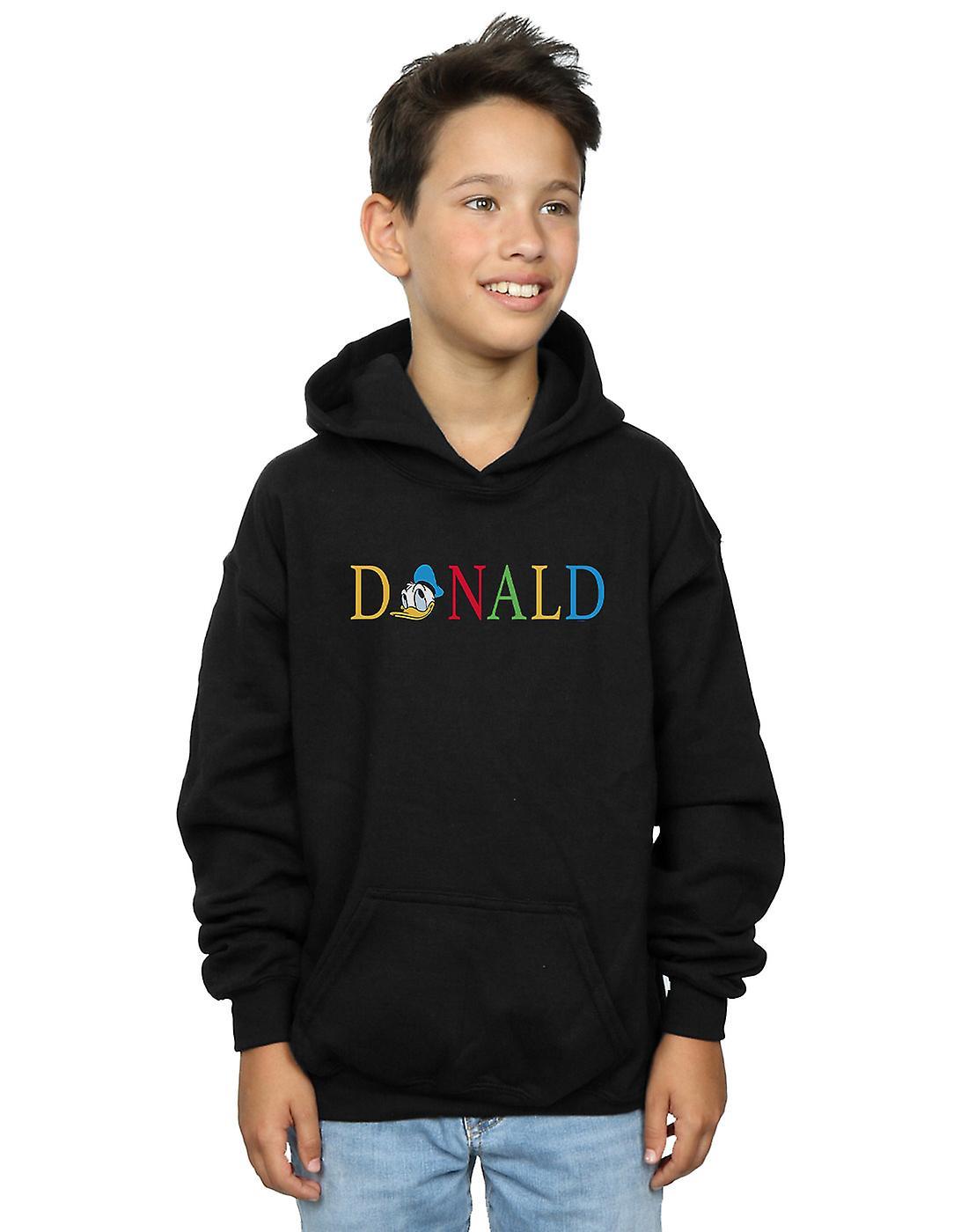 Disney Boys Donald Duck Letters Hoodie