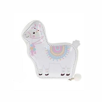 Set Manicure 5 pezzi - Llama rosa & bianco