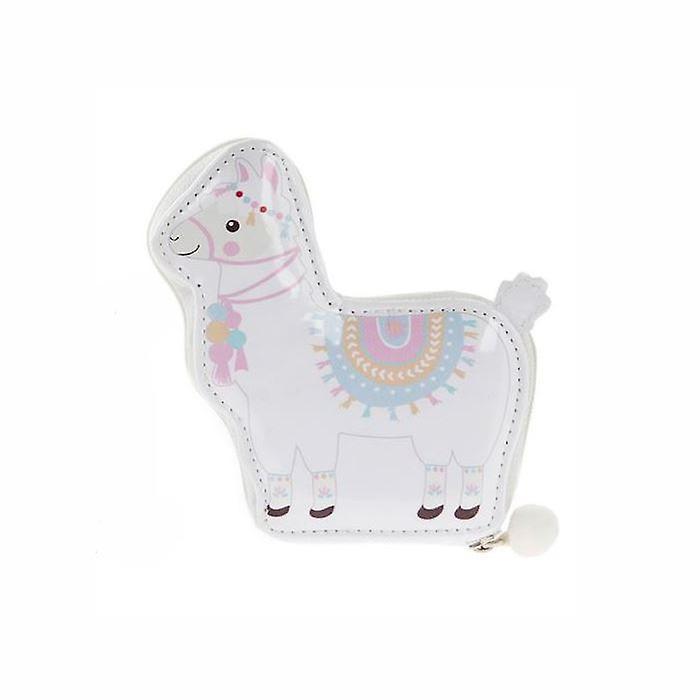 5 Piece Manicure Set - Llama Pink & White