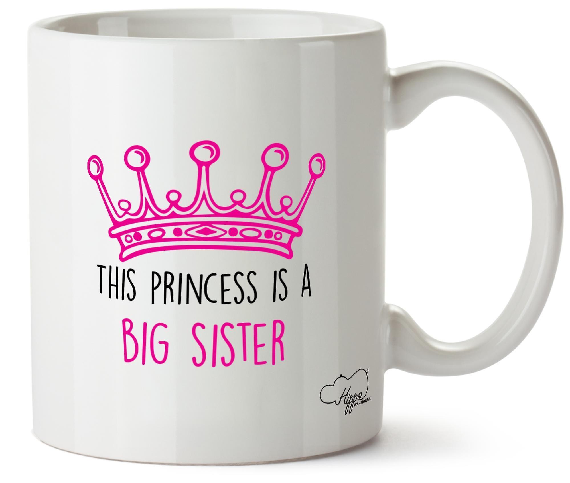 Hippowarehouse это принцесса является большая сестра 10oz кружка Кубок
