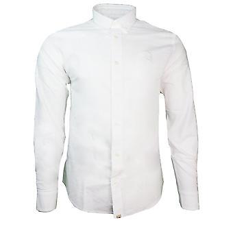 Ganska grön skjortor Classic Fit Oxford skjorta
