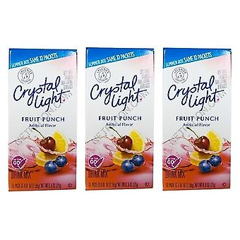 Luce di cristallo sul go Fruit Punch Sugar Free soft drink mix 3 Pack