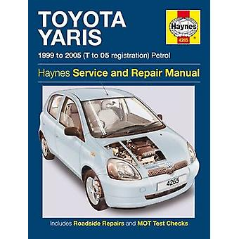 Toyota Yaris Owners Workshop Manual by Anon - 9781785213243 Book