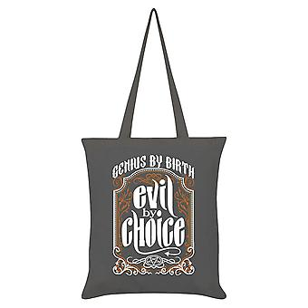 Grindstore Evil By Choice Tote Bag