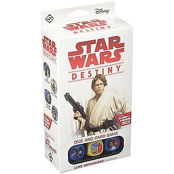 Star Wars Luke Skywalker Destiny Starter Game Set