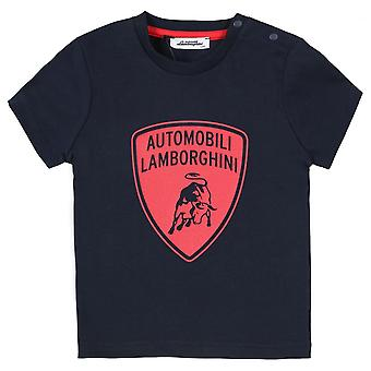 Lamborghini Kids Automobili Lamborghini Toddler T-Shirt,Blue