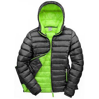 Utendørs Look Womens Bene isolert hette puffer jakke coat