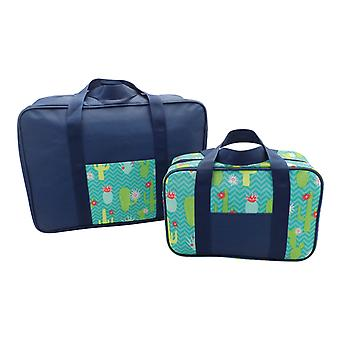 Country Club 2 Pack Cooler Bag Set Cactus
