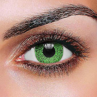 Christmas Green Contact Lenses