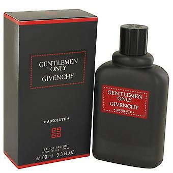Gentlemen Only Absolute Eau De Parfum Spray By Givenchy   534710 100 ml