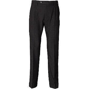 Henbury - Polyester Single Pleat Mens Trousers