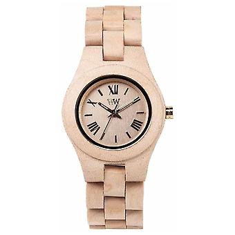 WeWood Womens Criss Beige Wooden Strap 70210200 Watch