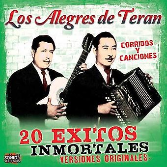 Los Alegres De Teran - 20 Exitos Inmortales [CD] USA import
