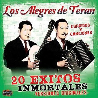 Los Alegres De Teran - 20 Exitos Inmortales [CD] USA importerer