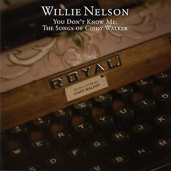 Willie Nelson - You Don't Know Me [CD] USA import