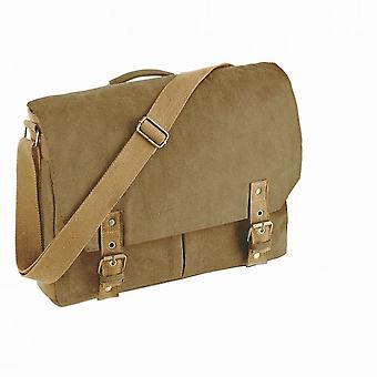 Quadra Vintage Canvas Tasche Messengerbags (12 Liter) (2 Stück)