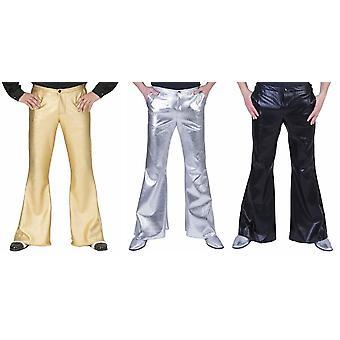 Pantalon striking 70s 70ies Disco Pants Costume DancerS Star Men's Costume