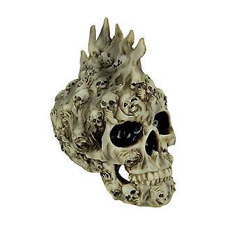Spirits Rising Ghostly Skull Statue