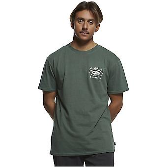 Quiksilver OG Bone Ring Short Sleeve T-Shirt in Garden Topiary Quiksilver OG Bone Ring Short Sleeve T-Shirt in Garden Topiary