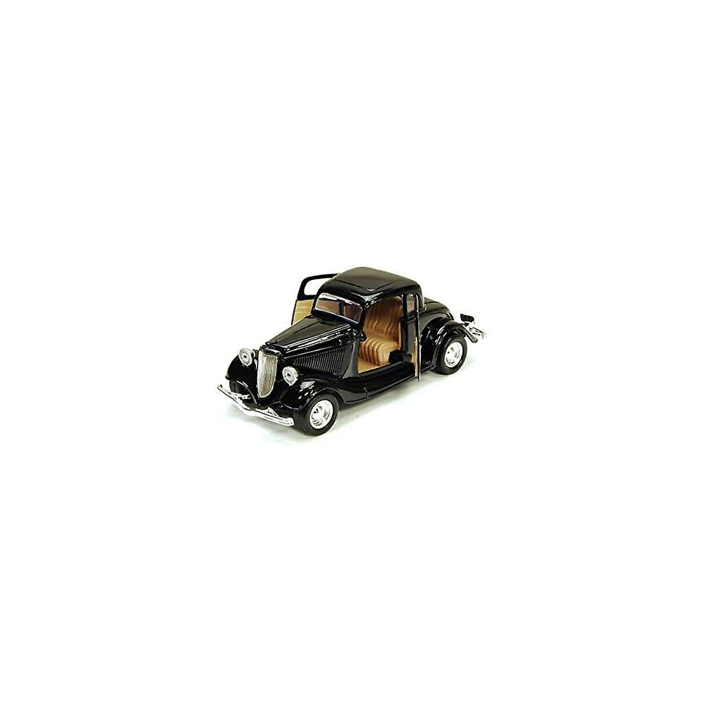 MotorMax American Classics - 1934 Ford Coupe - Black - 1:24