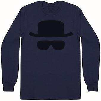 מסכת הייזנברג-חולצת תחתוני סבא שרוול ארוך