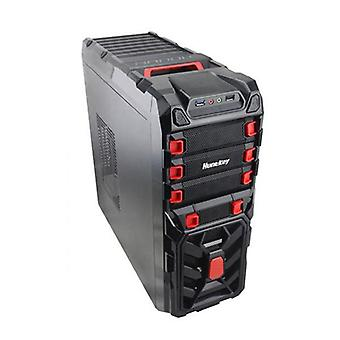 Huntkey SPIDER RED Gaming Case Ingen PSU