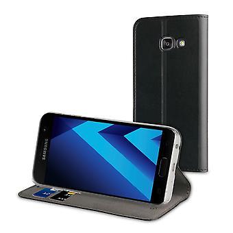 Caso para Samsung Galaxy A3 (2017) Carteira Preta