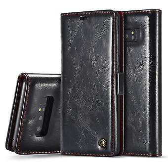 Case For Samsung Galaxy Note 8 Black Card Holder