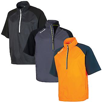 Sunice Mens Golf Westchester Half Zip Wind Shirt