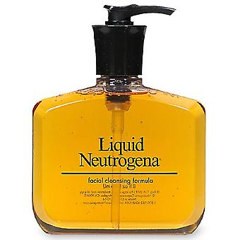 Neutrogena liquid facial cleansing formula, fragrance free, 8 oz