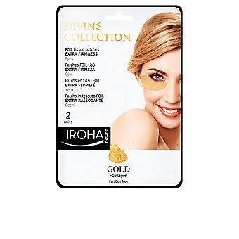 Iroha Gold Tissue Eyes Patches Extra Firmness 2 Pcs For Women