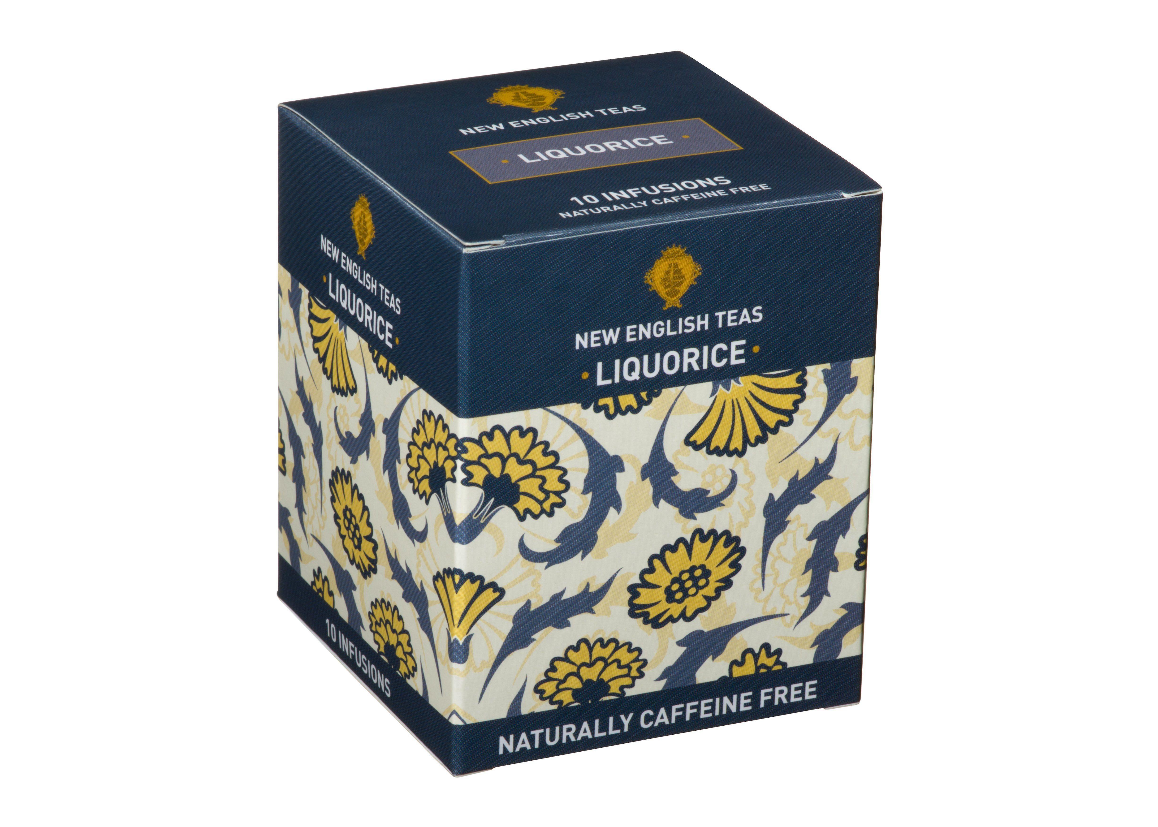 Liquorice tea 10 individually wrapped teabags