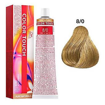 Wella Professionals Color Touch Pure Naturals 8/0 60 ml