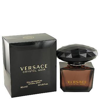 Crystal Noir Eau De Parfum Spray By Versace   420446 90 ml