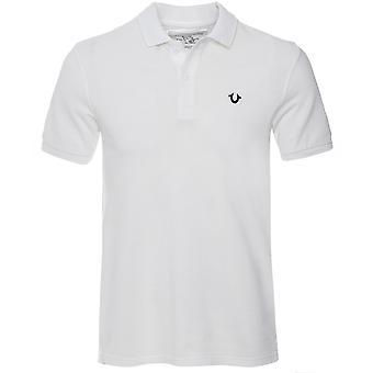 True Religion Lurex Logo Polo Shirt
