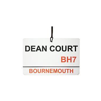 Bournemouth / Dean Court Straßenschild Auto Air Freshener