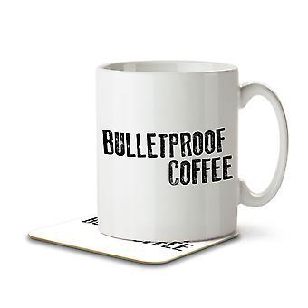 Bulletproof Coffee - Keto Diet - Mug and Coaster