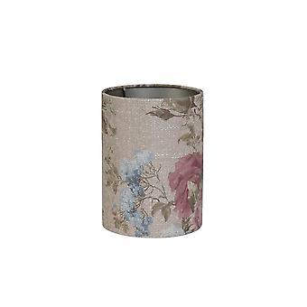 Sombra leve e de cilindro vivo 15x15x17,5cm Rosa Baroque Areia