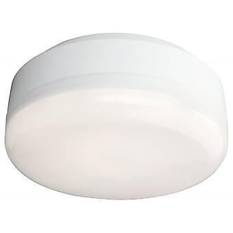 Firstlight Discus Modern White Bathroom Flush Ceiling Light