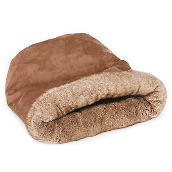 Freedog Brownie Sock Cat Bed (Cats , Bedding , Igloos)