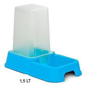 Nayeco Tolva de Comida y Agua Duo Azul 3.5 L (Perros , Comederos y bebederos)