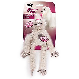 AFP グラマー犬 Peluche Gafas パーティー ガール (犬、おもちゃ・ スポーツ, ぬいぐるみ)