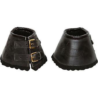 Gómez Bell leather-felt with buckles t-g par