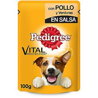Pedigree Bolsitas con Comida Húmeda de Pollo y Verduras para Perros Adultos